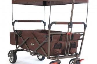 FUXTEC CT-500/OR – Bollerwagen mit Dach