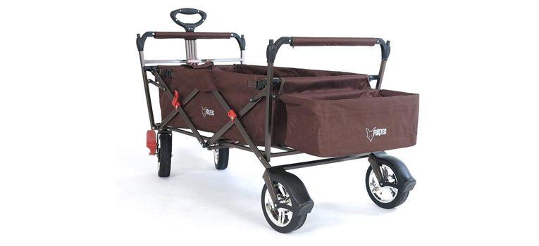 fuxtec ct500 bollerwagen mit dach im test. Black Bedroom Furniture Sets. Home Design Ideas